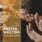 Thursday Prayer Meeting 6pm at newDAY Church Edenvale