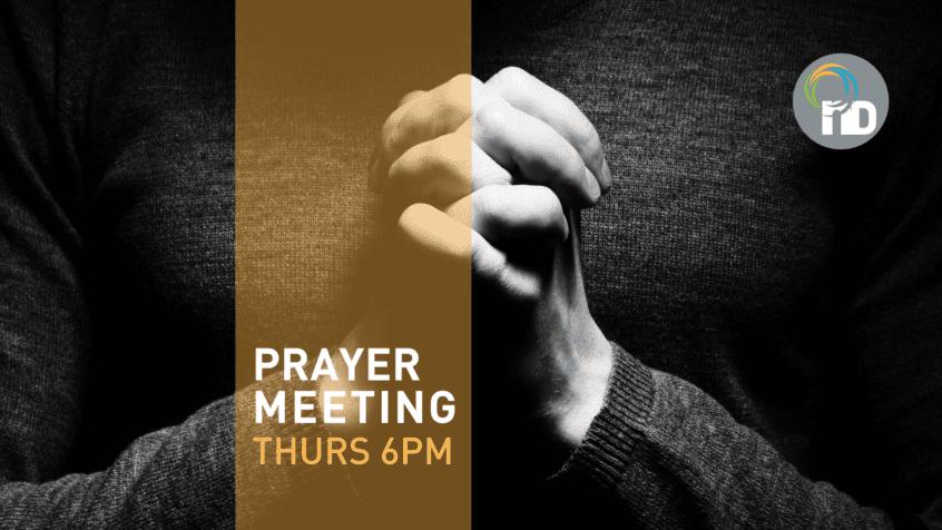 Thursday Prayer Meeting 6pm at newDAY Church Edenvale