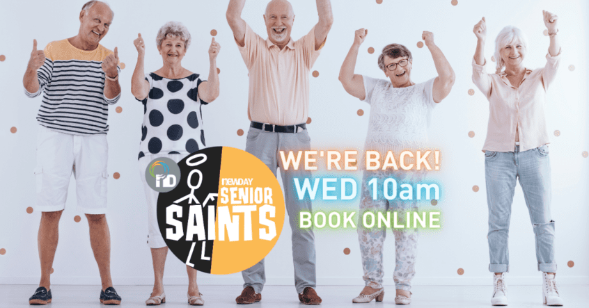 Senior Citizens Day - Senior Saints at Newday Church Edenvale
