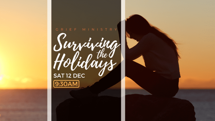 dealing with grief over the holidays | Grief counselling at newDAY Church Edenvale