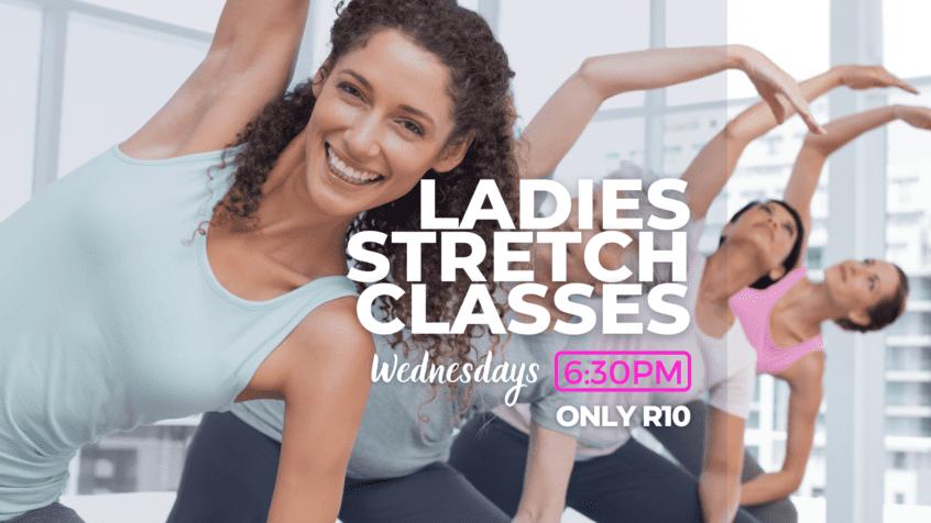 Ladies Stretching Class Wednesday
