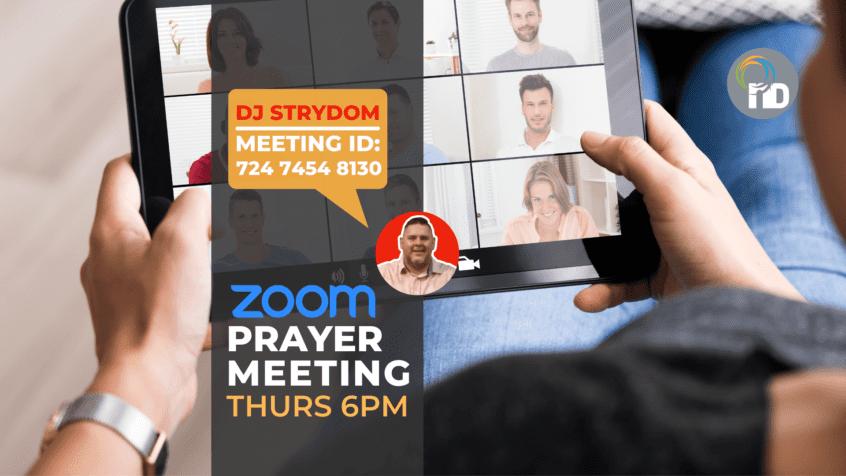 Prayer Meeting Online - newDAY Church Edenvale