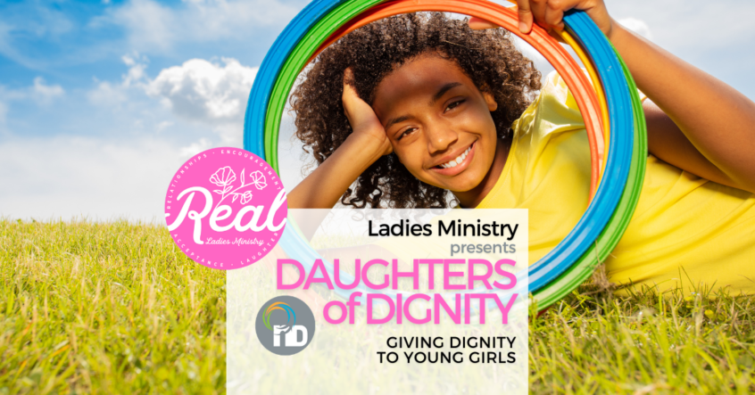Young Girls Sanitary Dignity Campaign Edenvale newDAY Church