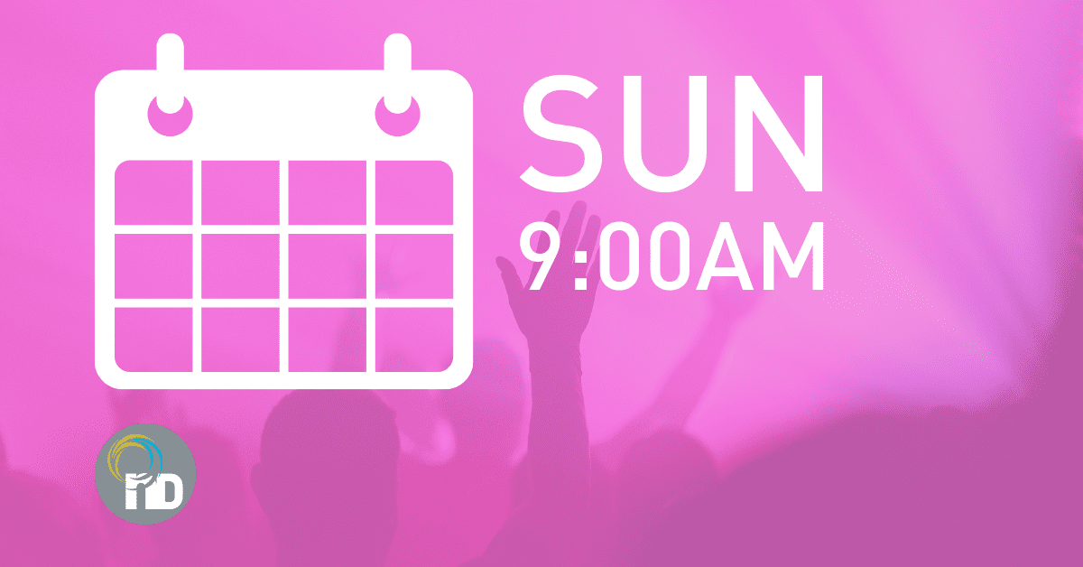 Sunday Services 9:00am at newDAY Church Edenvale