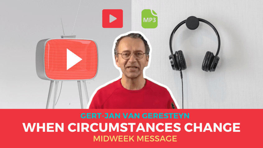 What to do when Circumstances Change - newDAY Church