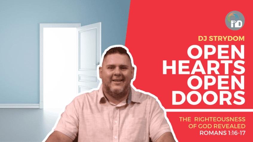 Open Hearts Open Doors - Dj Strydom preaches at newDAY Church Edenvale