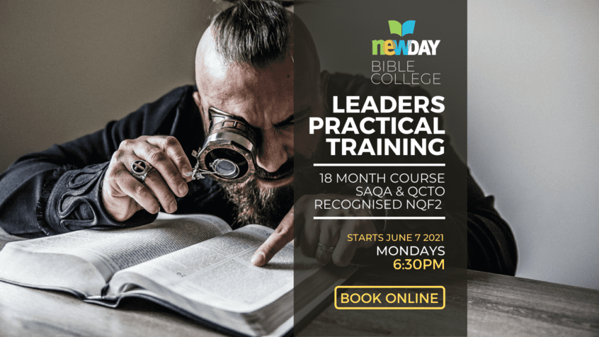Christian Leaders Practical Training   Religious Christian Practitioner ay newDAY Bible College