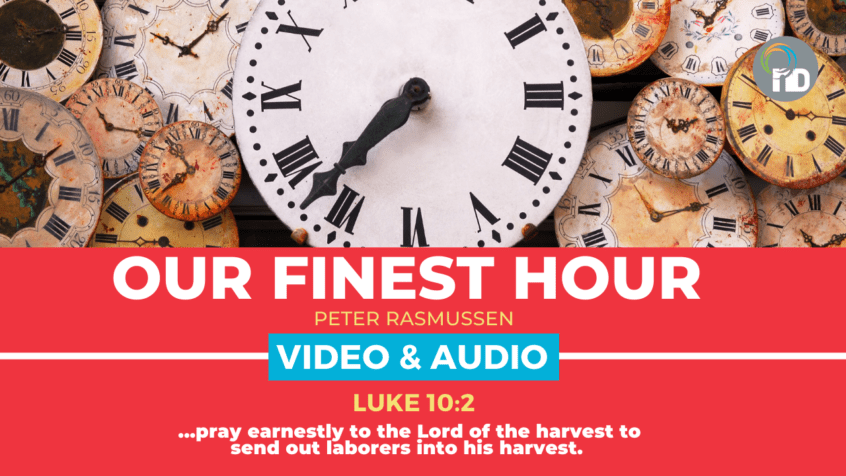 Our Finest Hour Church | Peter Rasmussen at newDAY Church Edenvale - 26th Anniversary