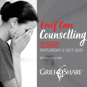 Grief Care Counselling Day Edenvale - GriefShare at newDAY Church Edenvale