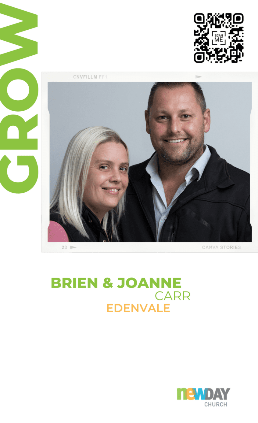 Brien and Joanne Carr - Grow Group Edenvale