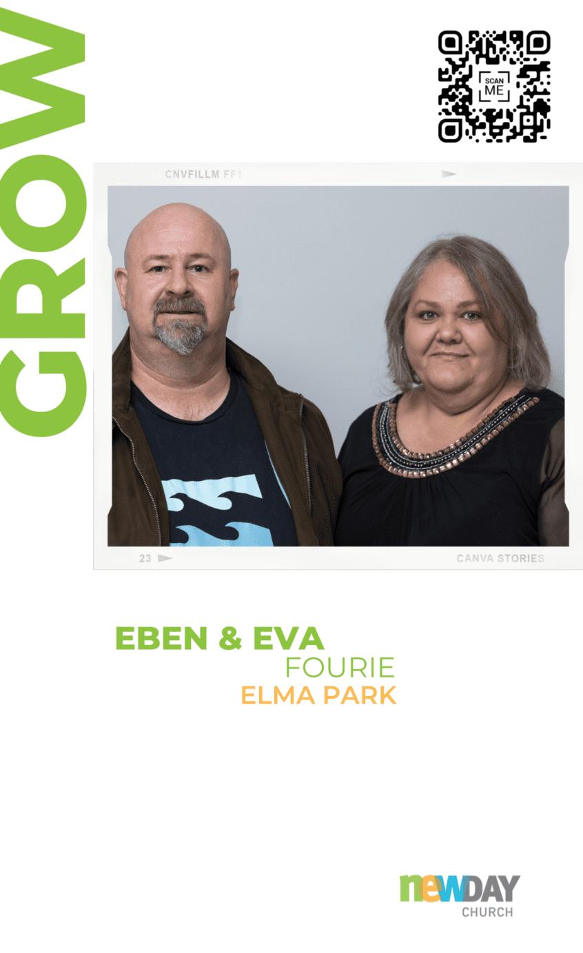Eben and Eva Fourie - Grow Group Elma Park