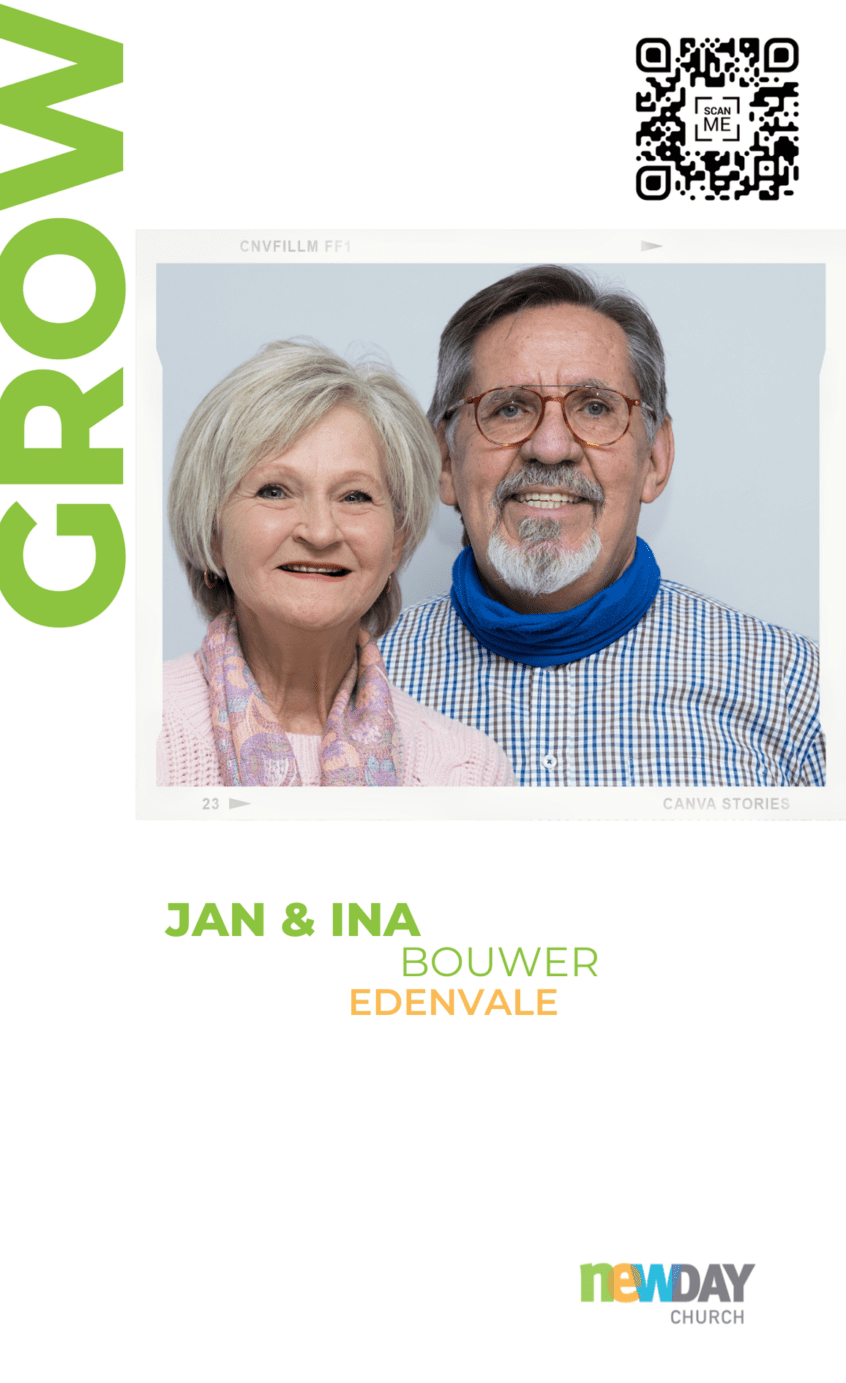 Jan and Ina Bouwer - Grow Group Edenvale
