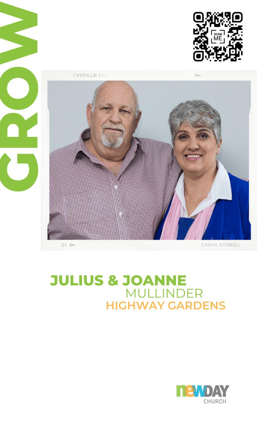 Julius and Joanne Mullinder - Grow Group Highway Gardens