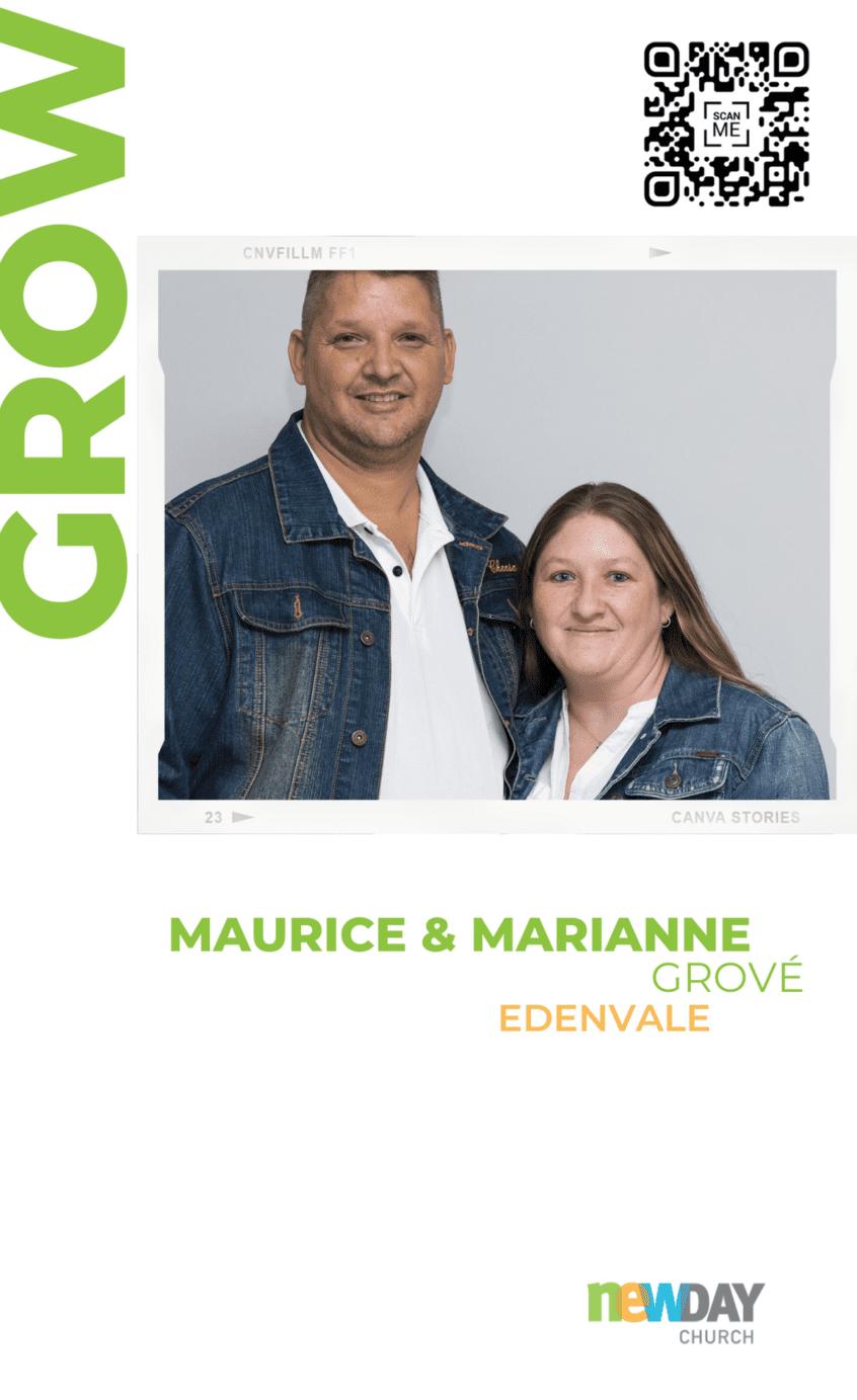 Maurice and Marianne Grové - Grow Group Edenvale